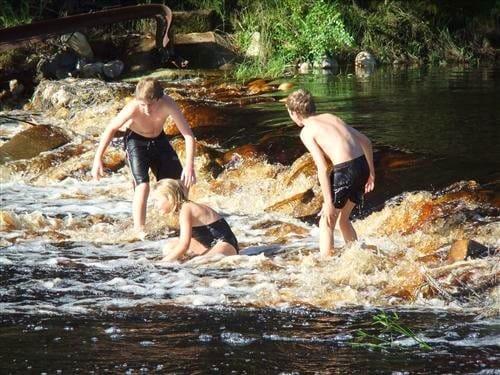 The Buffeljags River runs through our farm